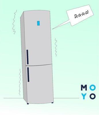 Почему стучит холодильник при выключении и работе — инструкция в 5 пунктах