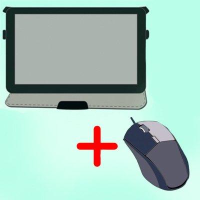 Инструкция в 4 пунктах, как подключить мышку к планшету