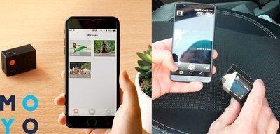 Инструкция, как подключить экшн камеру к телефону, на примере 3 популярных производителей