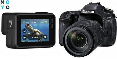 Экшн камера или фотоаппарат: 8 отличий, сравнений и советов