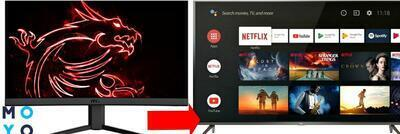 Как из ЖК монитора сделать телевизор: 5 подходов