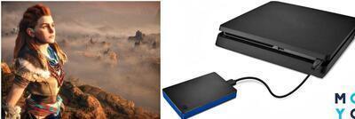 Внешний жесткий диск для PS4 — как выбрать из 3 видов