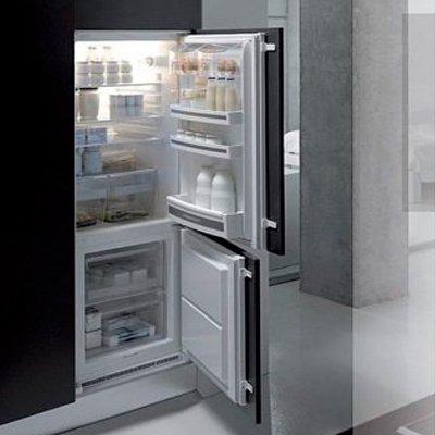 Как встроить обычный холодильник в гарнитур: 4 шага