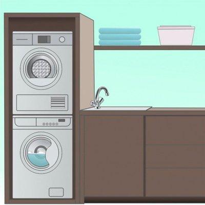 Как подключить сушильную машину: 3 приема монтажа