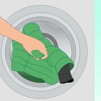 Як прати пуховик в пральній машині: 5 правил