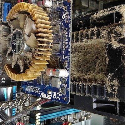 Как почистить компьютер от пыли: 2 проверенные технологии