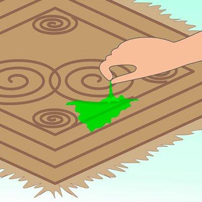 Как убрать слайм с ковра: 2 способа оперативной чистки