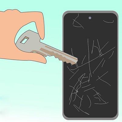 Как убрать царапины с экрана телефона: 5 лучших приемчиков