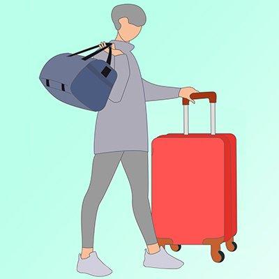 Что лучше — чемодан или сумка на колесах: 5 разделов в помощь при выборе