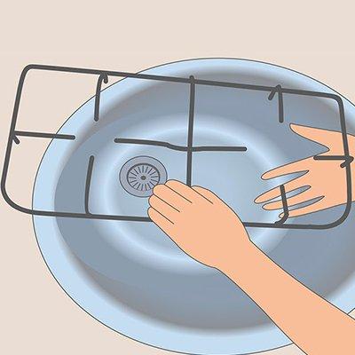 Как почистить решетку на плите: 11 хаков