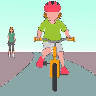 Як навчити дитину кататися на велосипеді: 9 цінних настанов