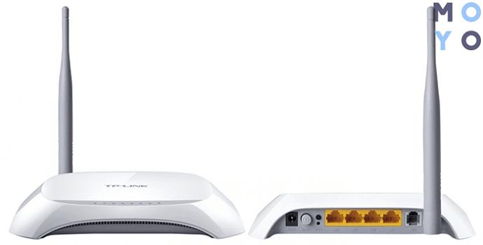 TD-W8901N может работать как роутер и как модем