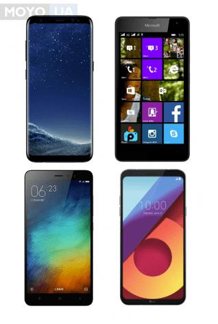 Разнообразие современных смартфонов