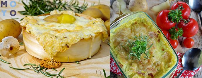 картошка запеченая с мясом