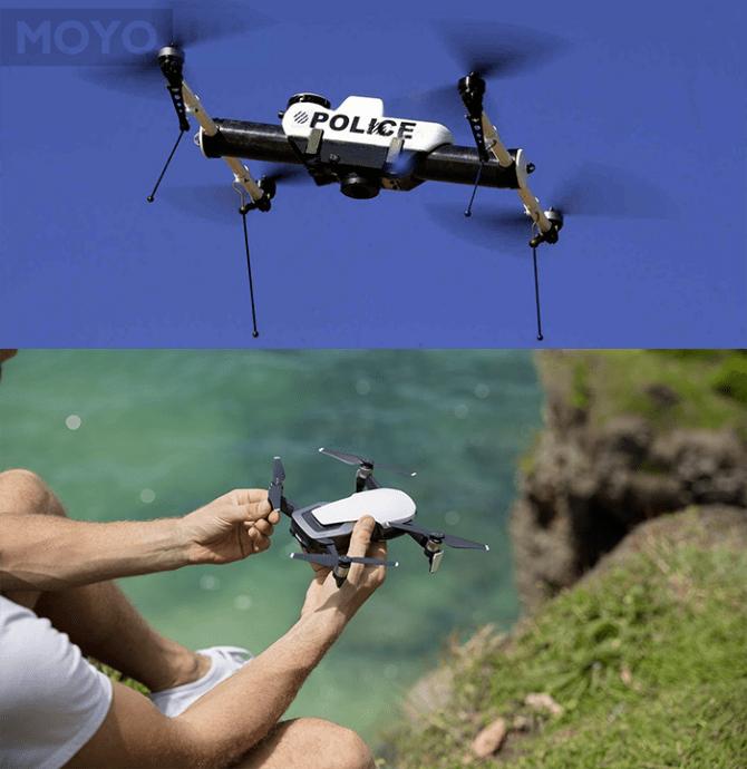 Разновидности дронов