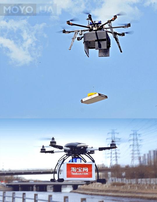Дроны - доставка товаров