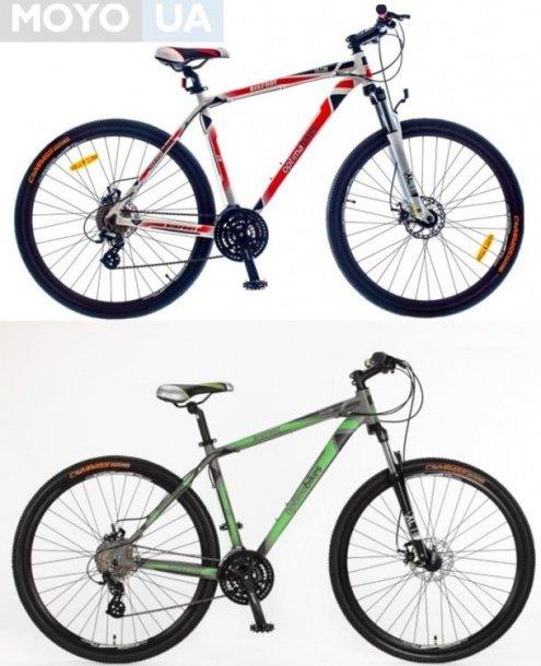 2 велосипеда модели Optima Bigfoot AM Vbr Al