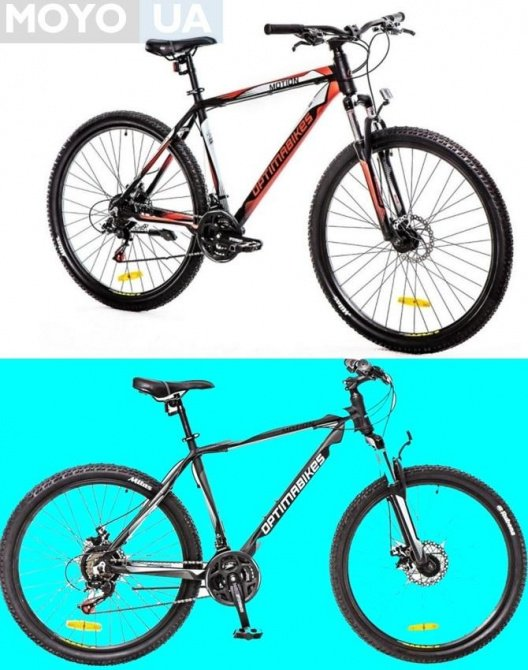 2 велосипеда модели Optima Motion AM 14G DD
