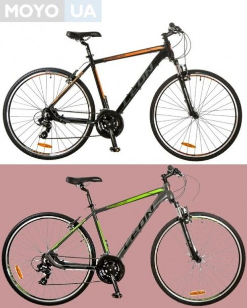 2 велосипеда модели Leon HD-85 AM 14G Vbr Al