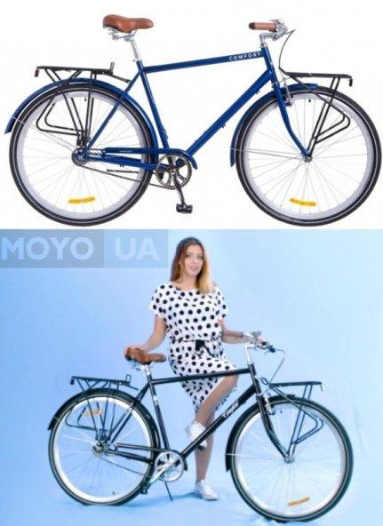 2 велосипеда модели Дорожник Comfort Male 14G St