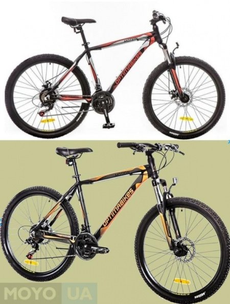 2 велосипеда модели Optima Motion AM 14G DD Al