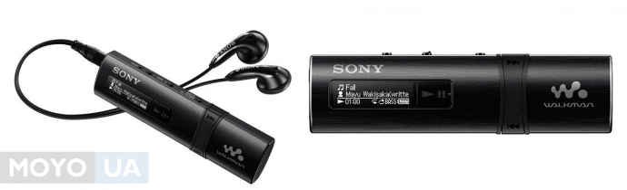 легкий и компактный мп3 плеер Walkman-B183F