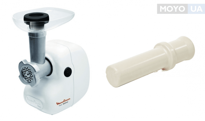 электрическая мясорубка Moulinex ME208139 с толкателем