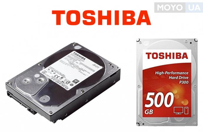 внутренние HDD от TOSHIBA