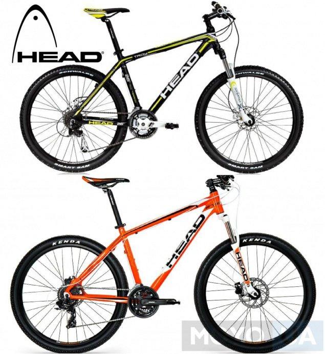 Велосипеды марки Head