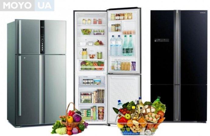 Холодильники Hitachi и продукты