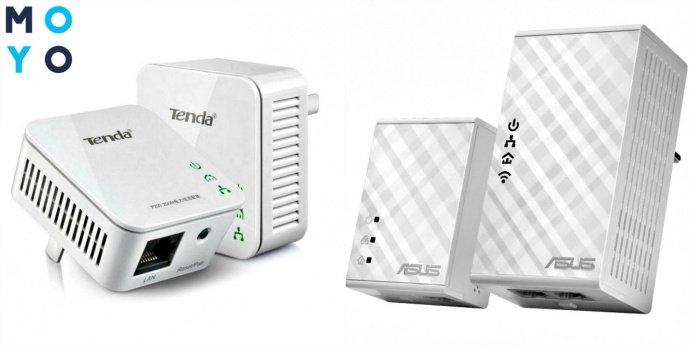 Powerline-адаптеры для создания Wi-Fi сети интернет