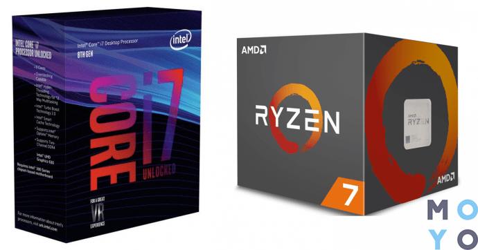 свежие процессоры от Интел и АМД