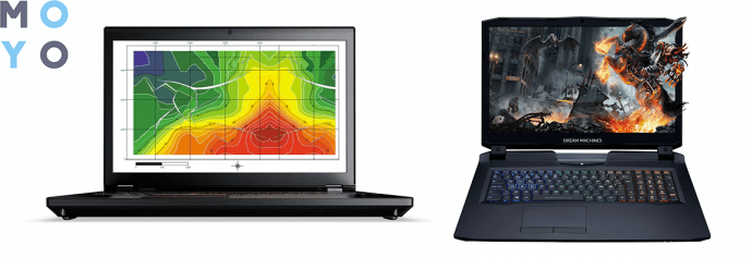 ноутбуки для видеомонтажа ThinkPad P71 и DREAM MACHINES Clevo X1080-17