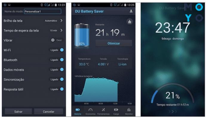 Программа для экономии энергии смартфона DU Battery Saver