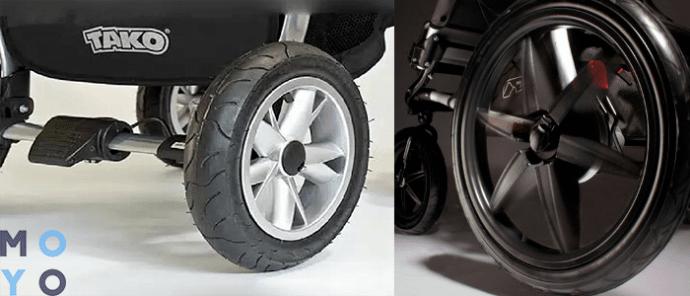 Резиновые и полиуретановые колеса