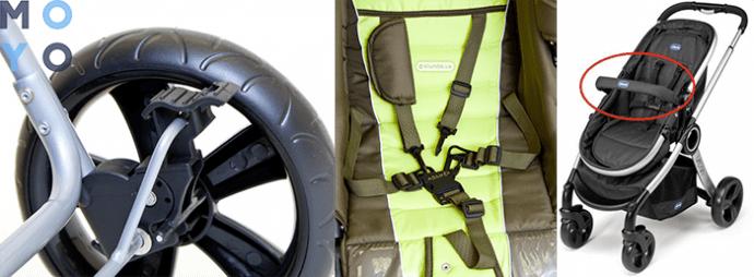 Системы безопасности коляски