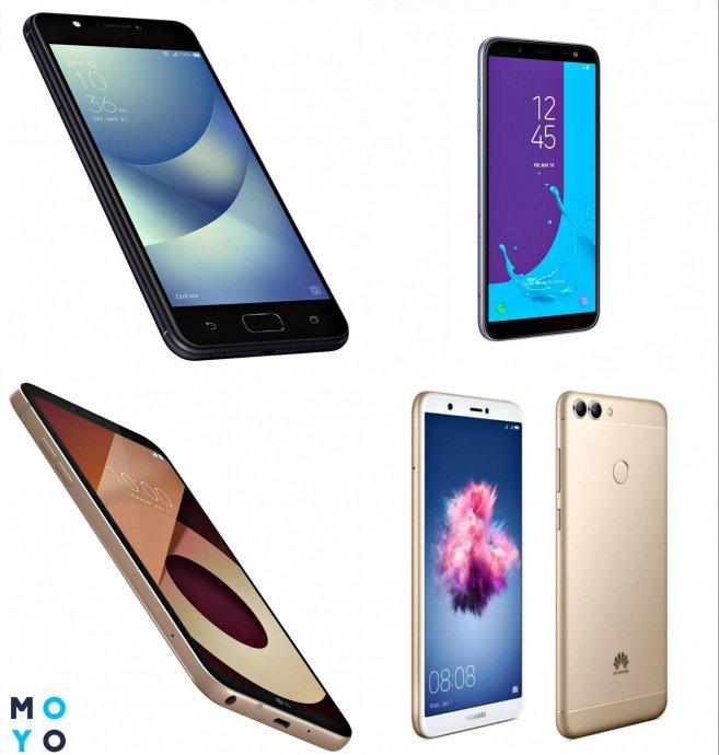 Рейтинг смартфонов до 6000 гривен