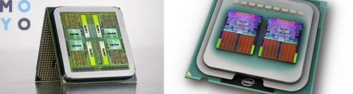 Расположение кэш-памяти в процессоре