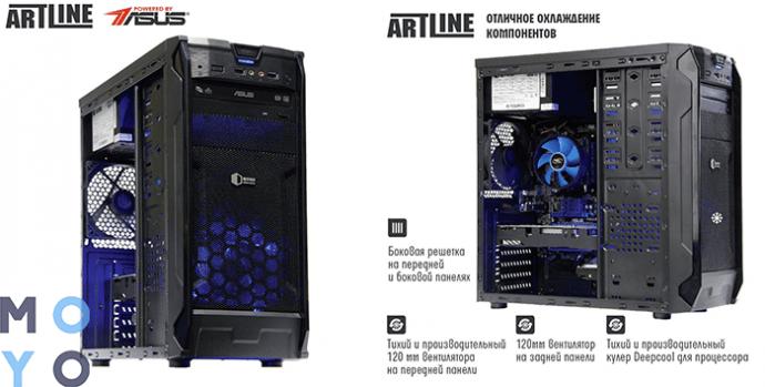 ARTLINE Gaming X47 v15 (X47v15) с Radeon rx570
