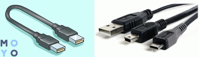 Распиновка USB