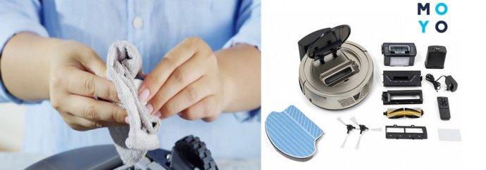 Как почистить робота-пылесоса