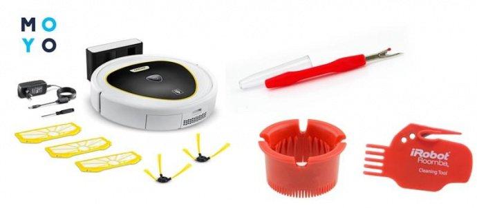 Что необходимо для чистки робота-пылесоса