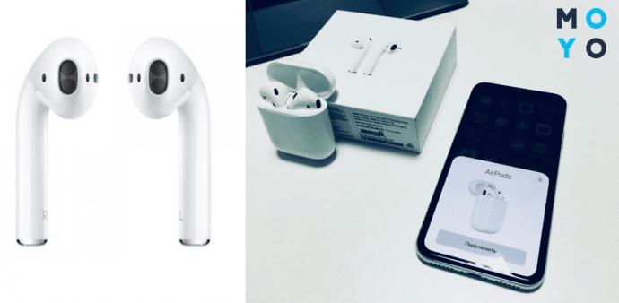 Оригинальные наушники Apple AirPods