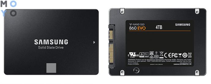 мегаемкий SAMSUNG 860 EVO на 4TB