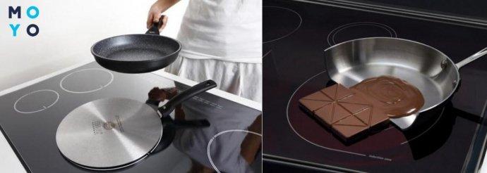Сковорода и принцип работы индукционной плиты