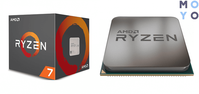 процессор с кэшем 3-го уровня в 16 Мб AMD Ryzen 7 2700