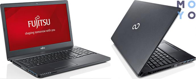 FUJITSU Lifebook A555 с 4 ГБ RAM и 2 слотами под ОЗУ