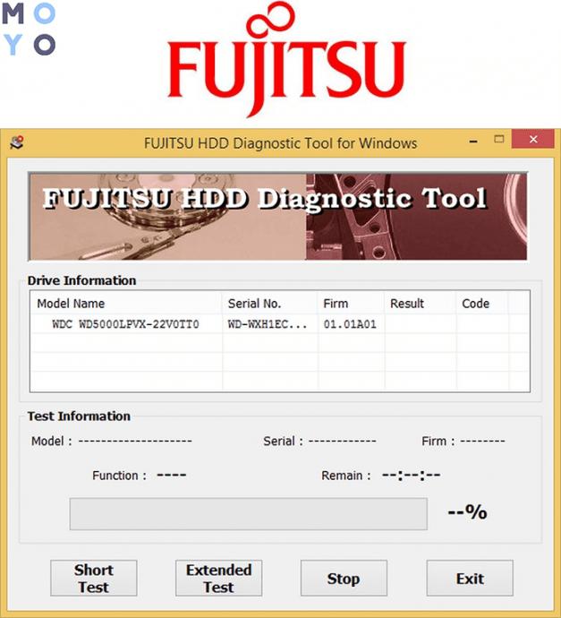 Fujitsu Diagnostic Tool