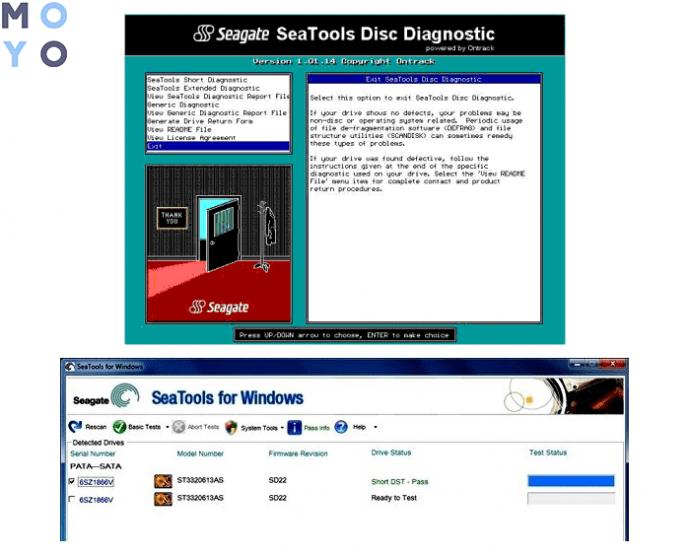 Seagate Disk Diagnostic
