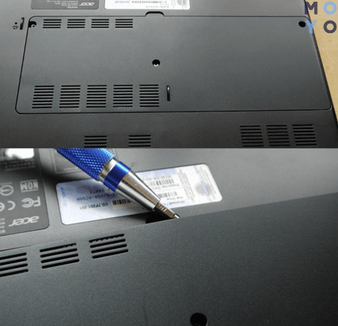 установка ССД вместо жесткого диска — часть 1